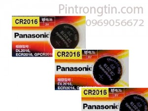 Pin panasonic cr2016, pin 3v