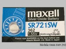 pin đồng hồ maxell SR721