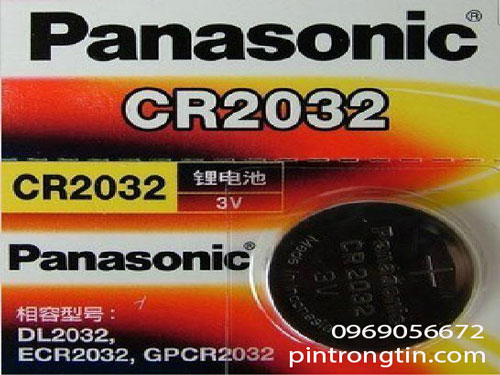 Pin CR2032 panasonic, Pin panasonic 3v