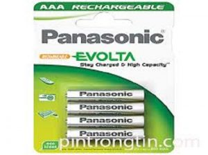 Pin sạc AAA Panasonic Evolta