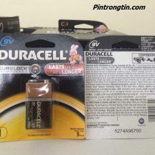 Pin Duracell 9v