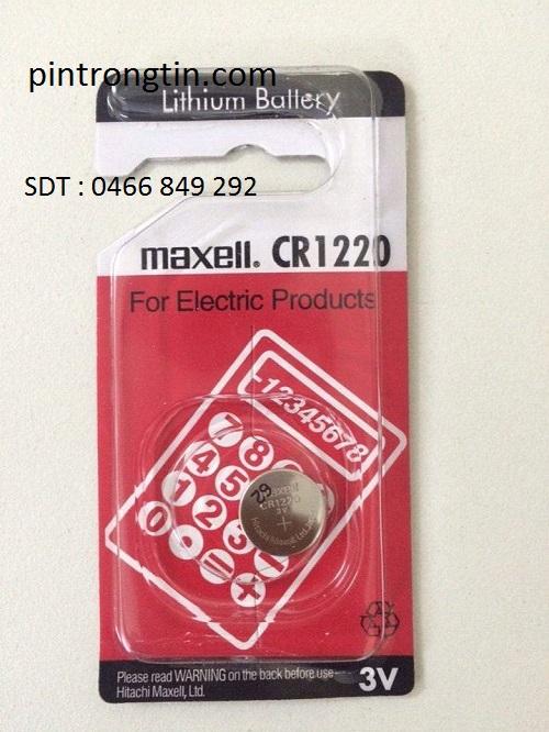 Pin Maxell CR1220 chính hãng