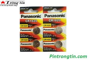 Pin CR1620 Panasonic, CR1620 Lithium 3v