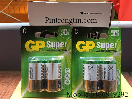 Pin Trung GP Supeer - chính hãng giá tốt