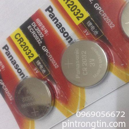 Pin CR2032 panasonic, Pin 3v