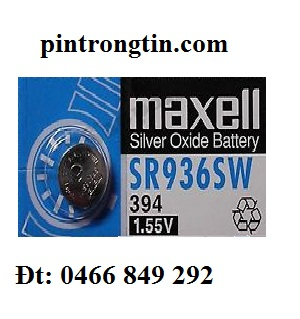 pin đồng hồ maxell SR936