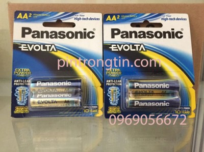 Pin AA panasonic Evolta LR6EG/2B
