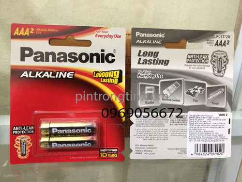 Pin panasonic AAA LR03T