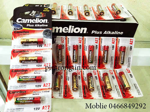 Pin A27 Camelion Alkaline chính hãng