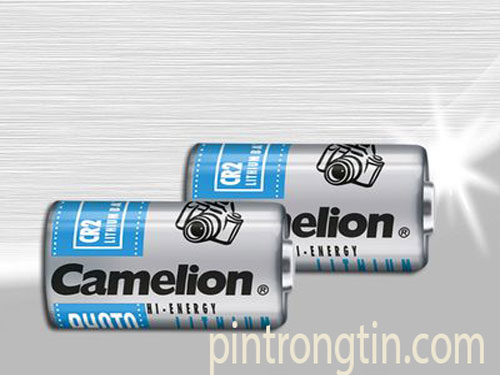 pin camelion CR2, Pin lithium 3v