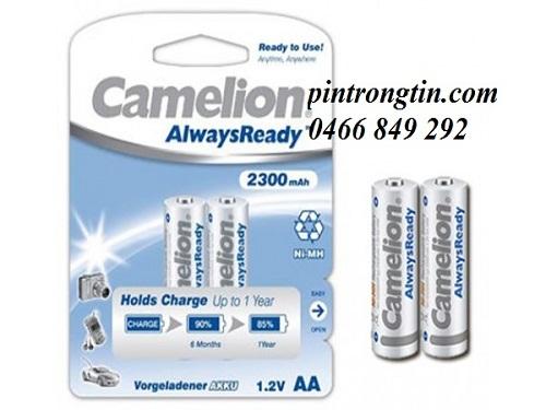 pin sạc AA camelion 2300mAh, pin sạc AA
