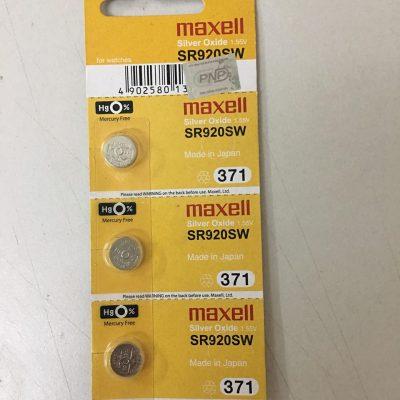 pin sr920sw 317 maxell 1