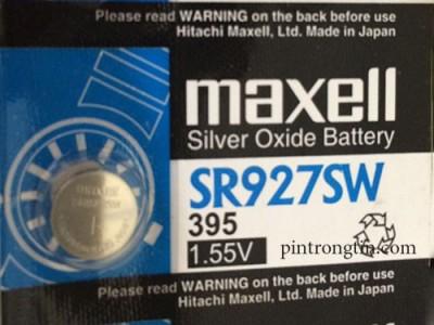pin đồng hồ maxell SR927