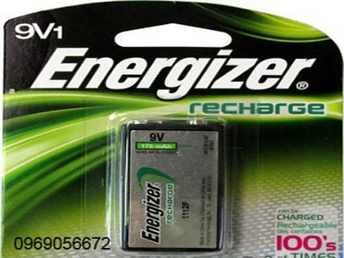 Pin Sạc Energizer 9v