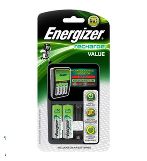 Bộ sạc Energizer 4 kèm 2 pin chính hãng