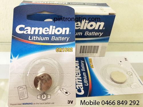 pin CR1632 camelion, pin 3v CR1632 chính hãng