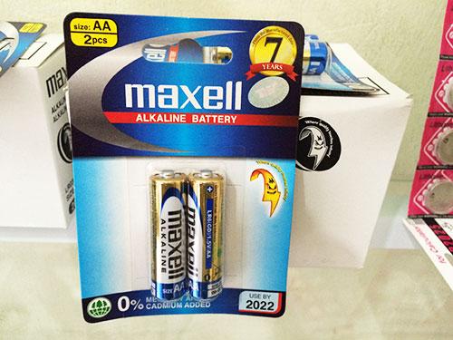 pin-maxell-AA, pin Alkaline là gì?