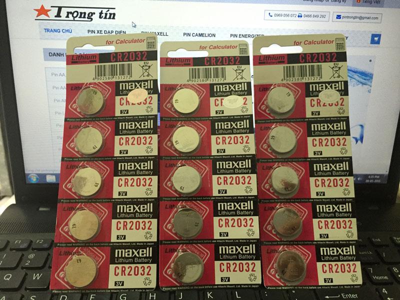 Pin CR2032, pin cmos