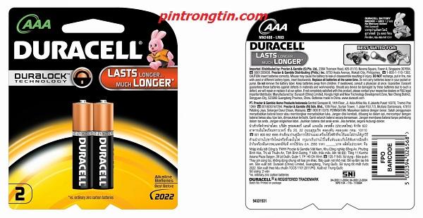 Pin Duracell AAA