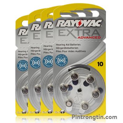 Pin máy trợ thính A10 Rayovac