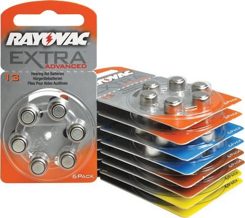 Pin máy trợ thính A13 PR48 Rayovac nhập khẩu Anh Quốc