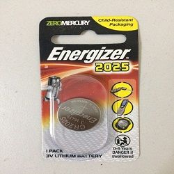 pin cr2025 energizer