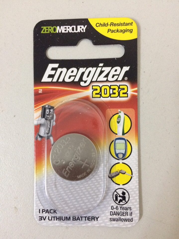 pin cr2032, Pin CR2032 Energizer, pin cmos