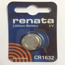 pin cr1632 renata,pin điều khiển oto