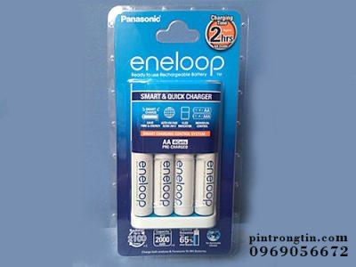 Bộ sạc pin eneloop kèm 4 pin chính hãng
