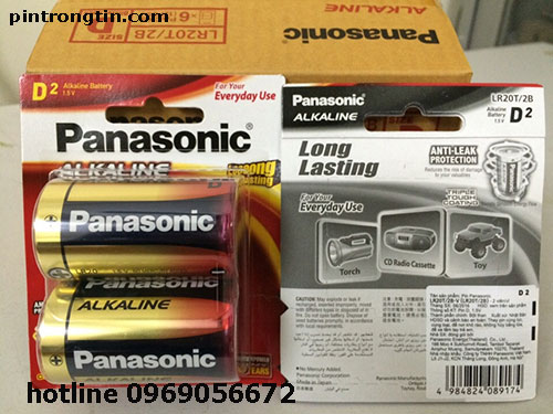 Pin đại D Panasonic
