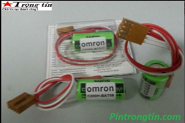 Pin Omron C200-Bat09,pin nuôi nguồn PLC 3v