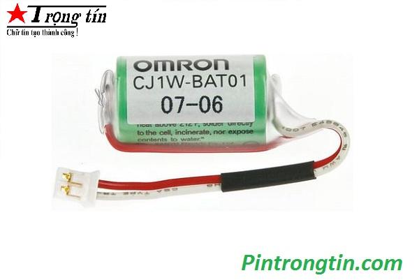 Pin omron cj1w-bat01