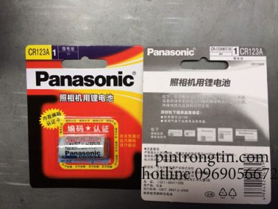 pin cr123a panasonic