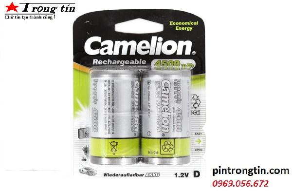 Pin Sạc D (Đại ) Camelion 4500mah / pin LR20 Sạc