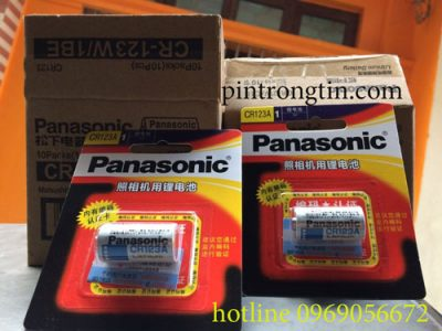 pin CR123 panasonic.