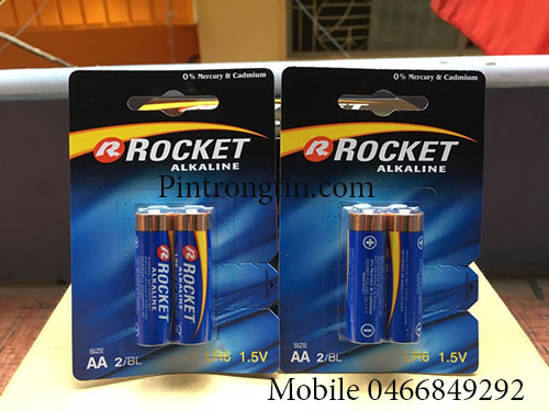 Pin Rocket aa Alkaline