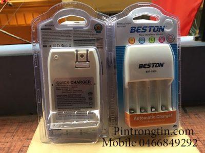 sạc Beston B805 Bộ sạc Pin Beston B805, Bộ sạc pin AA/ AAA Chĩnh hãng