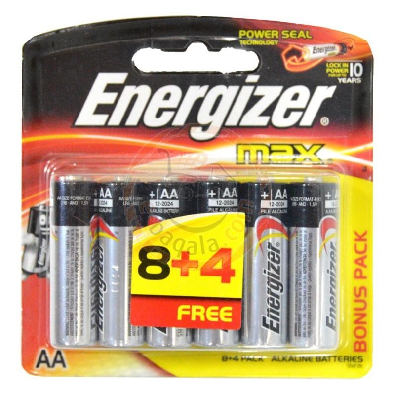 Pin energizer AA vỉ 12 viên giá cực tốt , lỗi 1 đổi 1