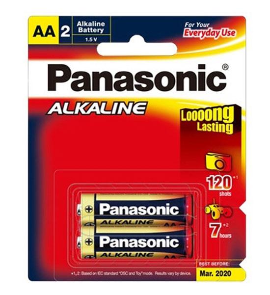 Panasonic AA alkaline 2