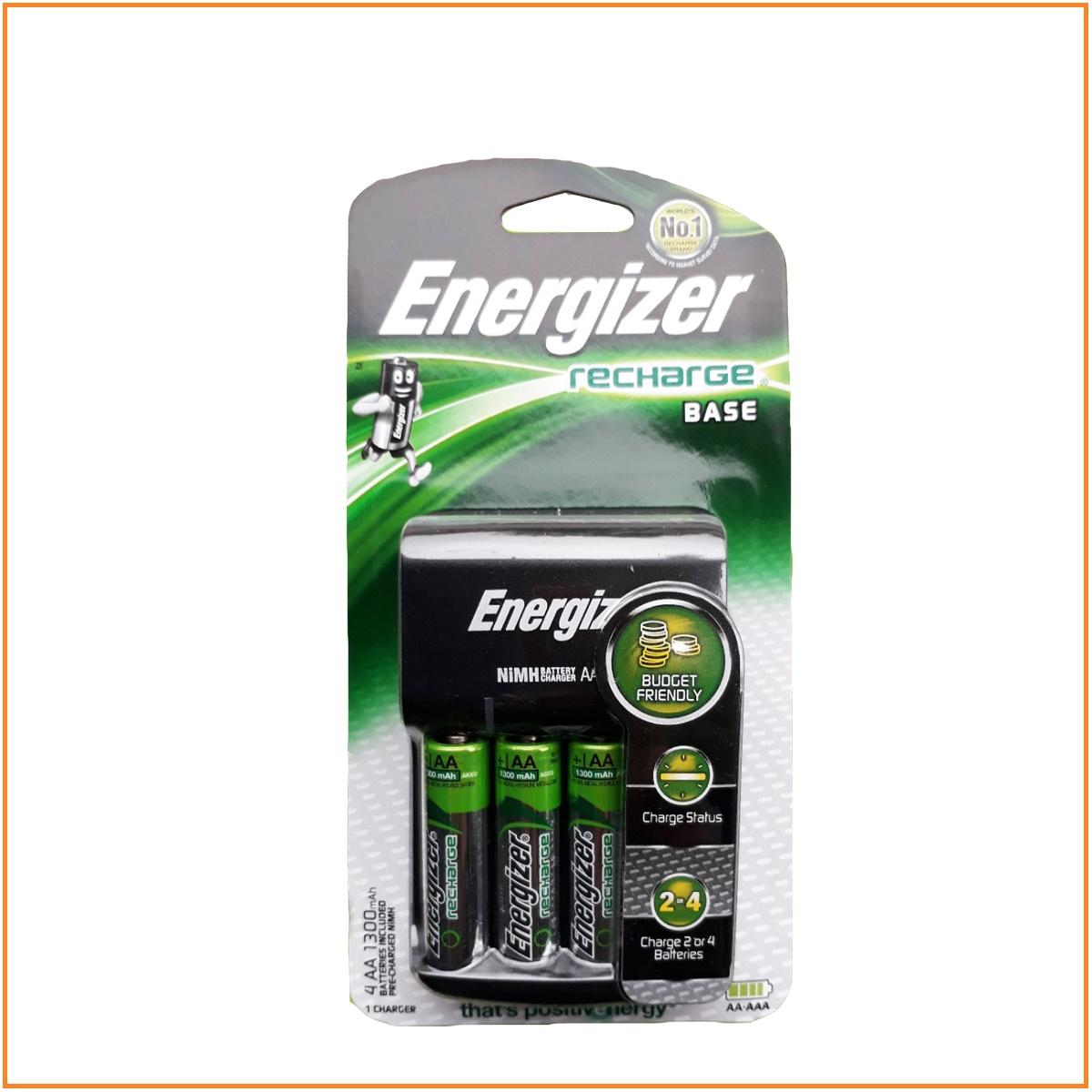 Máy sạc pin Energizer CHVC4 Kèm 4 pin AA 1300mah