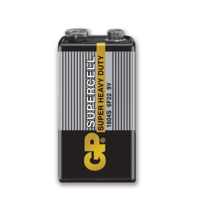 Pin 9V, pin vuông GP 6F22 cacbon