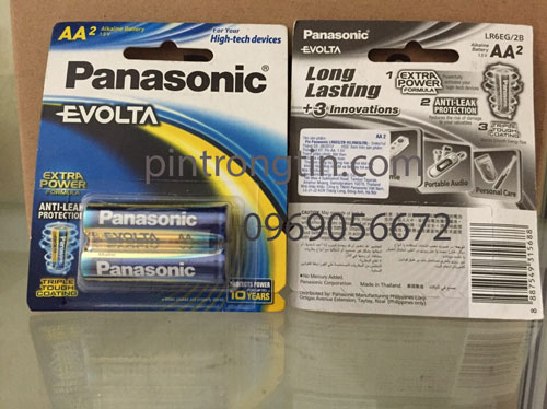 pin sạc Panasonic Evolta