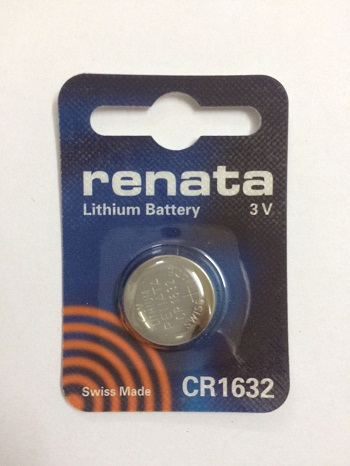 pin Renata 3v- cr1632