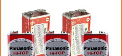 Pin Panasonic, pin 9v, pin vuông