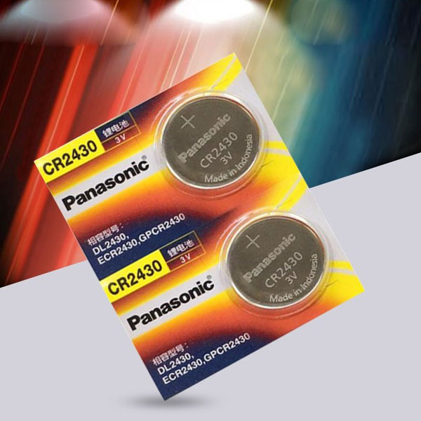 Panasonic Cr2430 CR 2430 3V lithilium