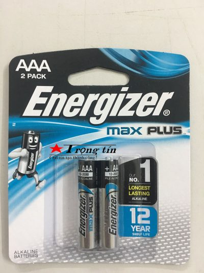 Pin Energizer aaa Max Plus