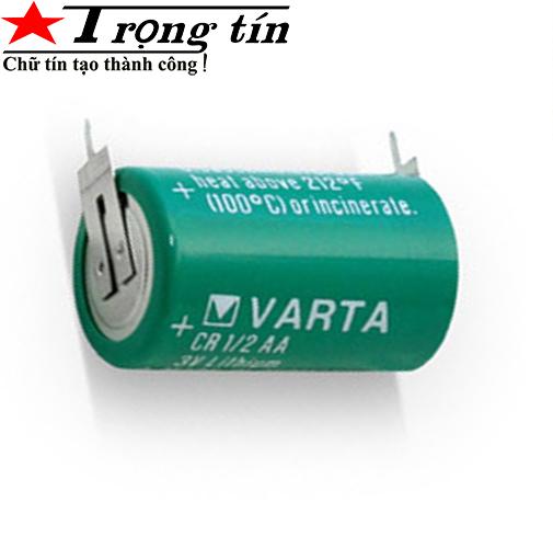 Pin nuôi nguồn Varta 1/2 aa không jack cắm