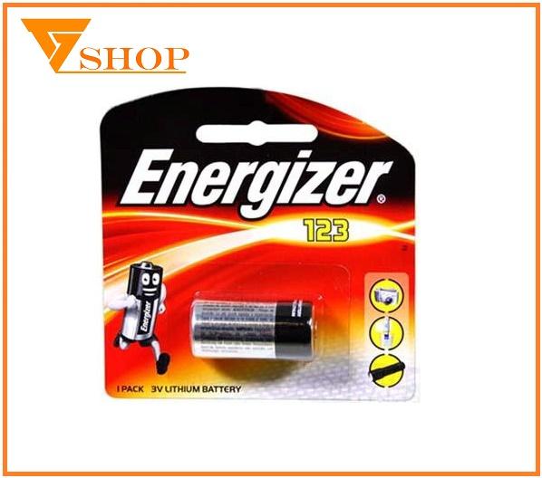 Pin Sạc Cr123 Energizer