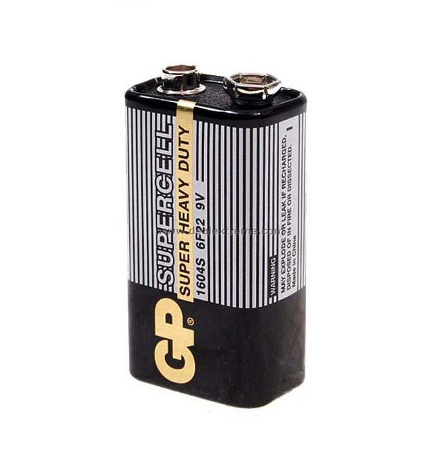 pin 9v GP pin sử dụng một lần