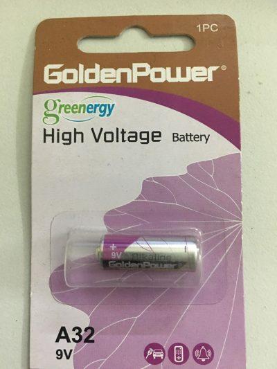 Pin A32 9v Golden Power High Voltage